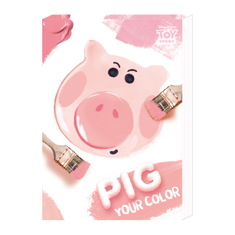 迪士尼便條紙50K-玩具小豬