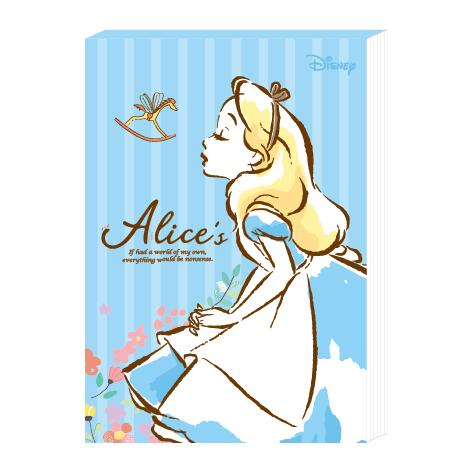 迪士尼便條紙50K-愛麗絲