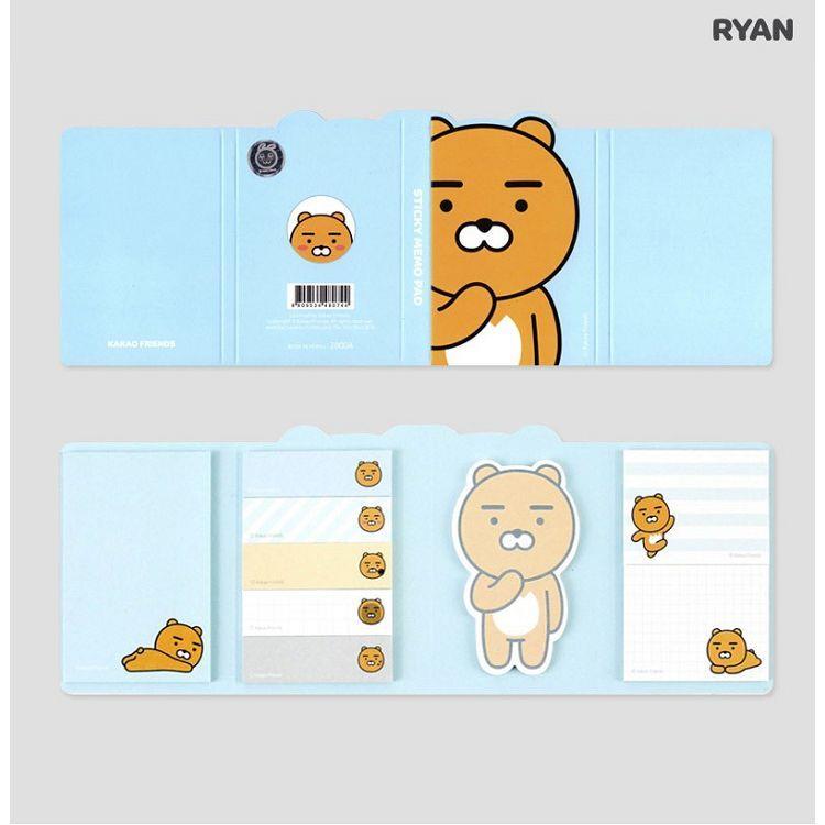 [kakao]綜合便條紙組合-RYAN