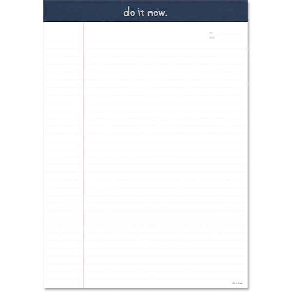 【珠友】A4可撕式企劃紙(橫線) 40張-D藍