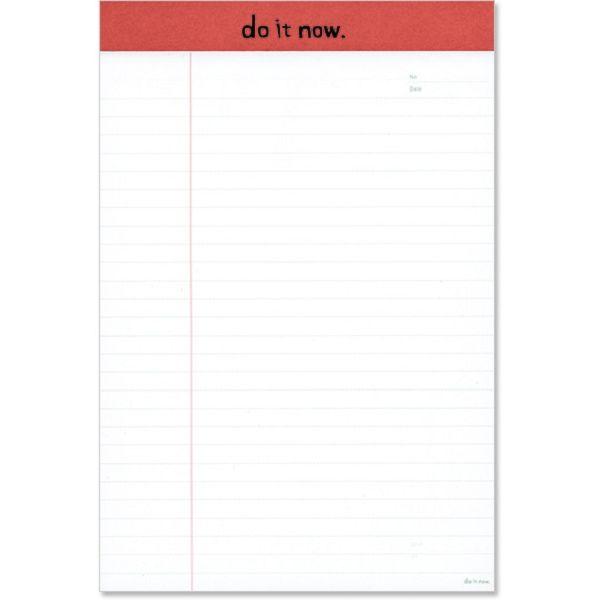 【珠友】B5可撕式企劃紙(橫線) 40張-B紅