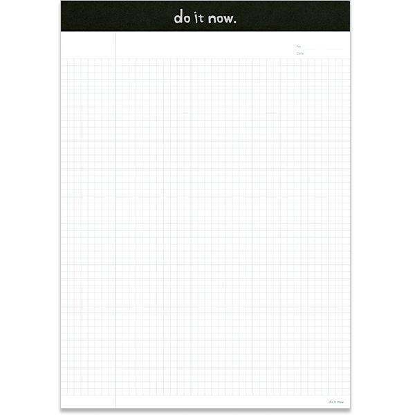 【珠友】A4可撕式企劃紙(方格) 40張-A黑