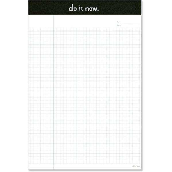 【珠友】B5可撕式企劃紙(方格) 40張-A黑