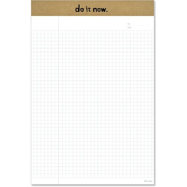 【珠友】B5可撕式企劃紙(方格) 40張-C牛皮