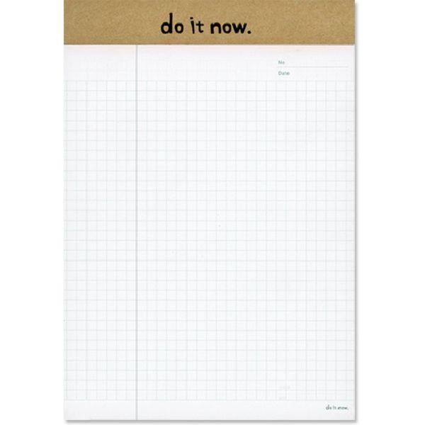 【珠友】A5可撕式企劃紙(方格) 40張-C牛皮