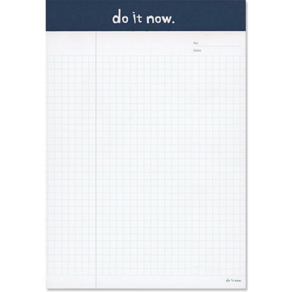 【珠友】A5可撕式企劃紙(方格) 40張-D藍