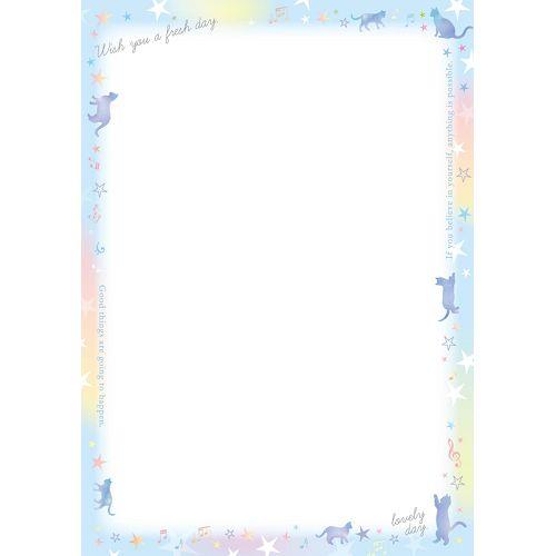 彩色影印紙A4-藍貓