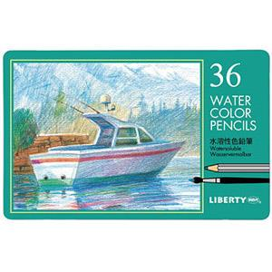利百代汽船水溶性色鉛筆36色