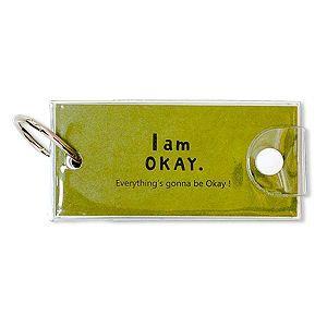 【柏格文具】I am okay 牛皮單字本 中