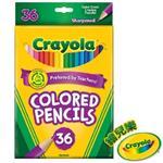 【Crayola繪兒樂】彩色鉛筆長款36色