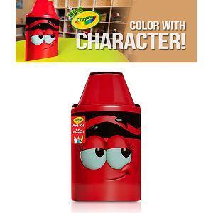 Crayola繪兒樂 蠟筆娃娃禮盒組-得意紅