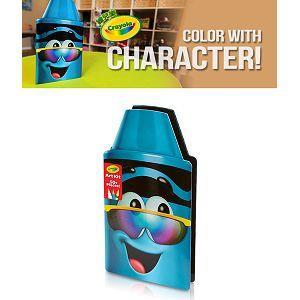 Crayola繪兒樂 蠟筆娃娃禮盒組-墨鏡藍