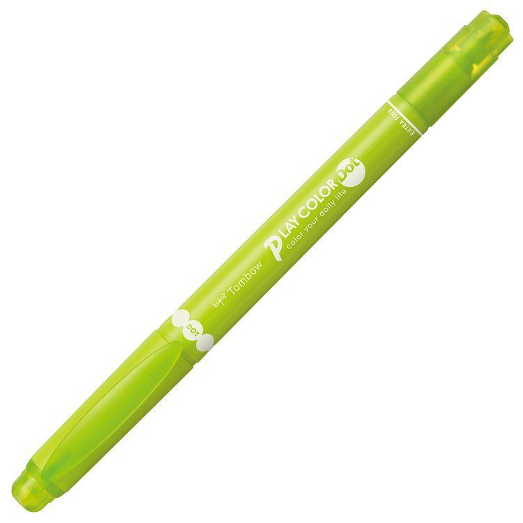 【TOMBOW】雙頭彩色筆DOT-黃綠#08