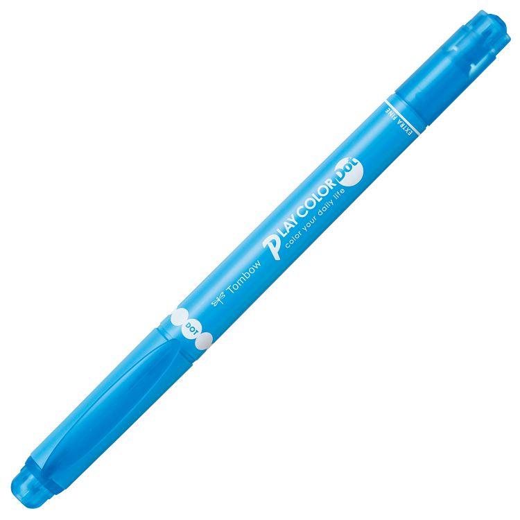 【TOMBOW】雙頭彩色筆DOT-淡藍#14