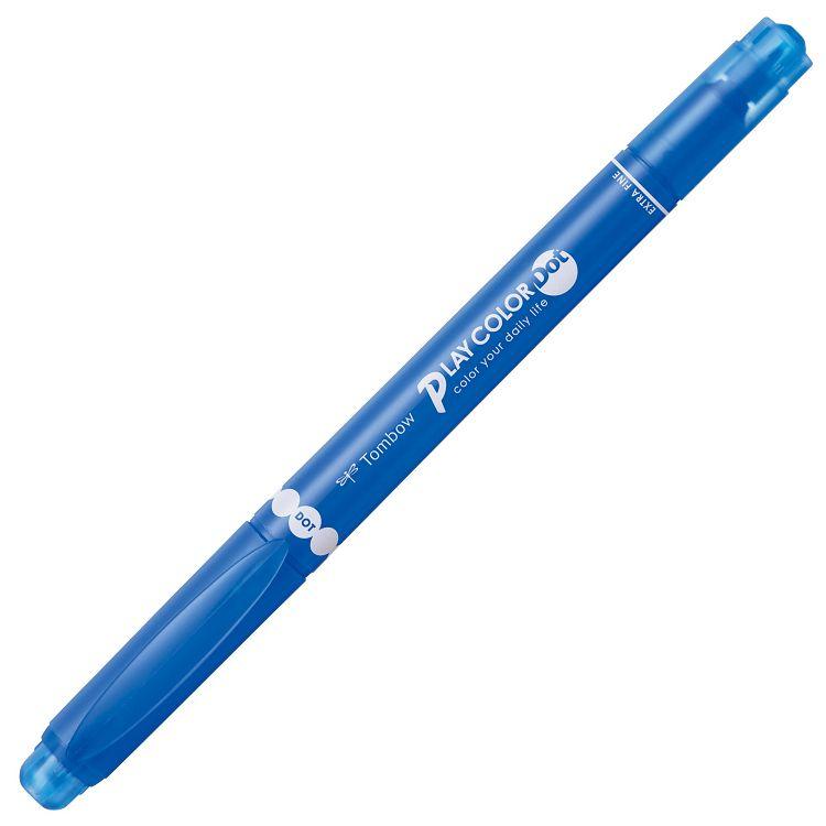 【TOMBOW】雙頭彩色筆DOT-法國藍#16