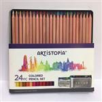 【ARTISTOPIA】24色西達木色鉛筆馬口鐵盒