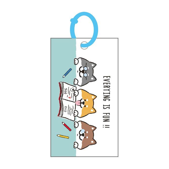 柴犬記憶卡(大)A-讀書