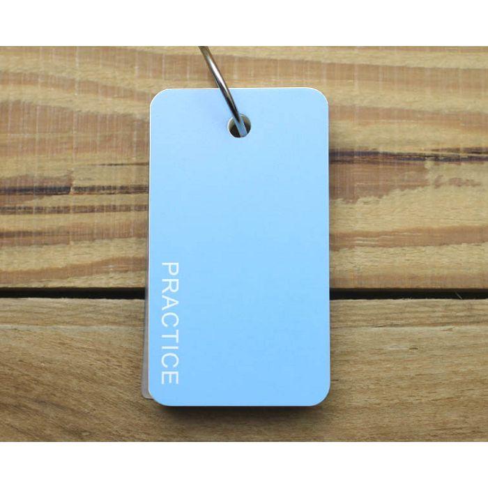 簡單型單字卡(素色水藍)