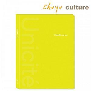 Unicite--A4資料本/內袋加厚40入-B黃