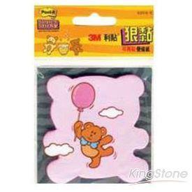 【3M】狠黏小熊造型便條紙(625S-5)