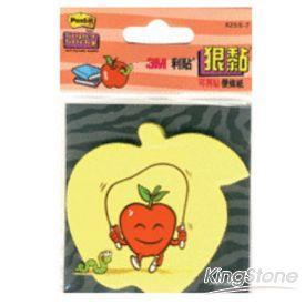 【3M】狠黏蘋果造型便條紙(625S-7)