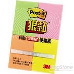 【3M】狠黏便條紙-四色(641S-1)
