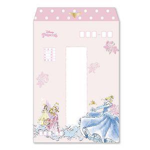 迪士尼中式信封-短公主/8入