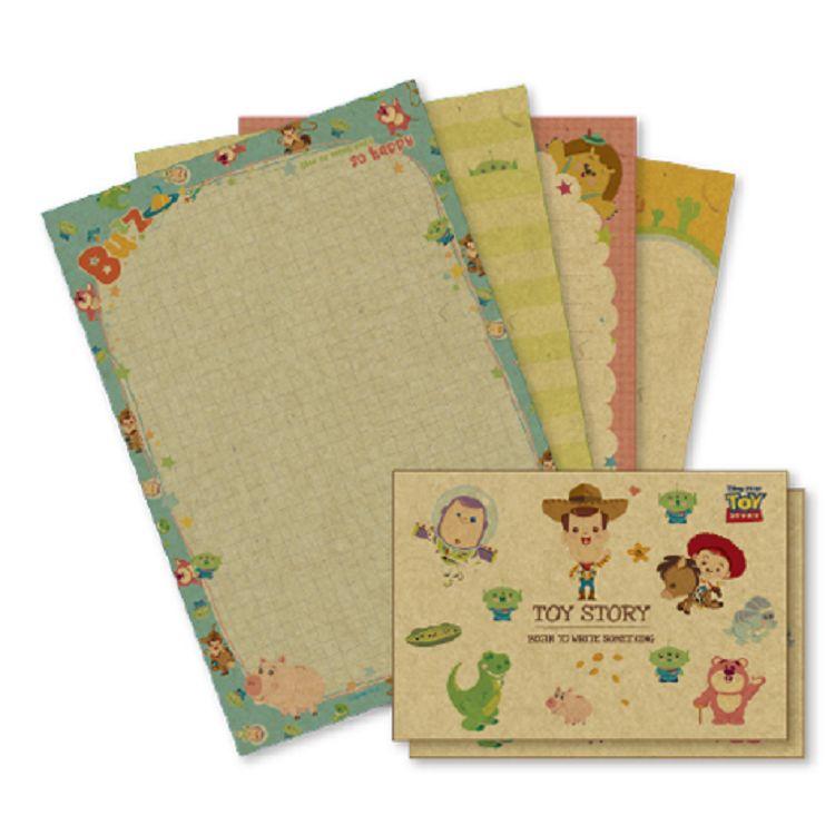 【南寶興】迪士尼32K牛皮紙信套組-玩具總動員