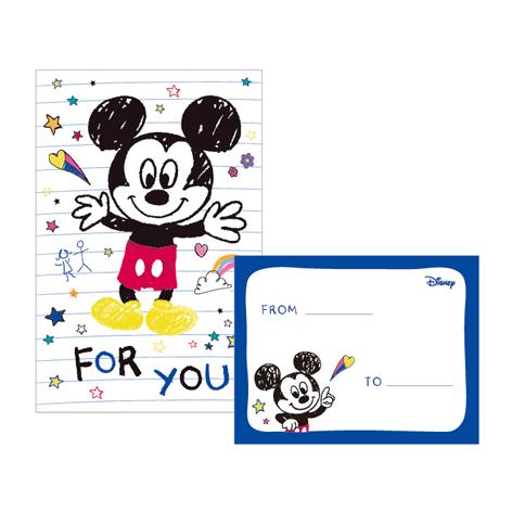Disney迪士尼42K信紙套-米奇B款