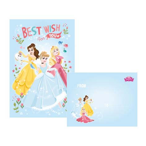 Disney迪士尼42K信紙套-公主