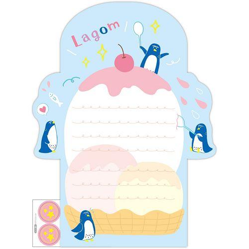 信紙組-企鵝