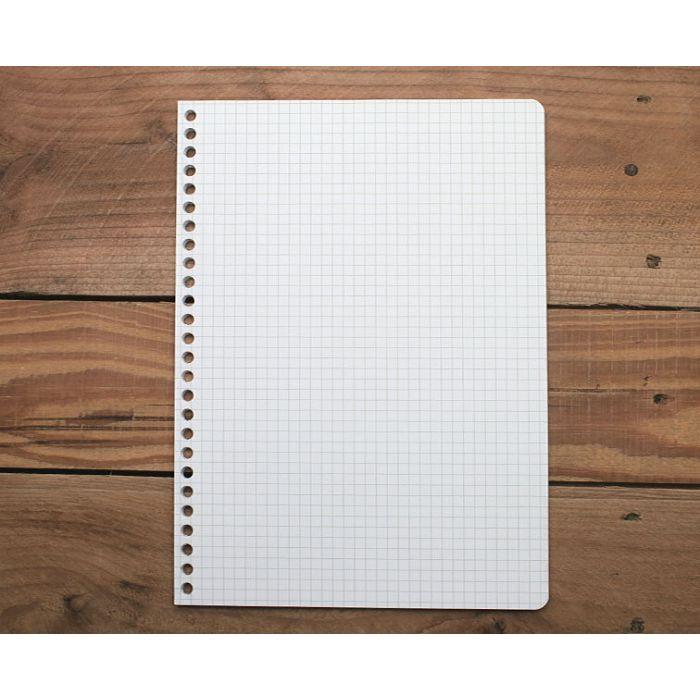 素色方格26孔內頁(灰綠)