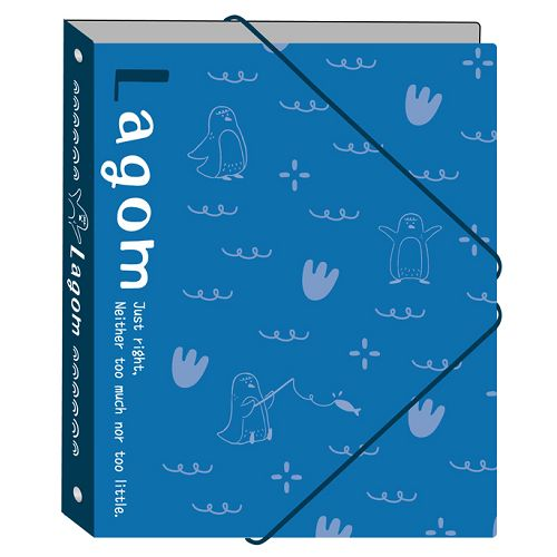 13K4孔活頁夾-企鵝