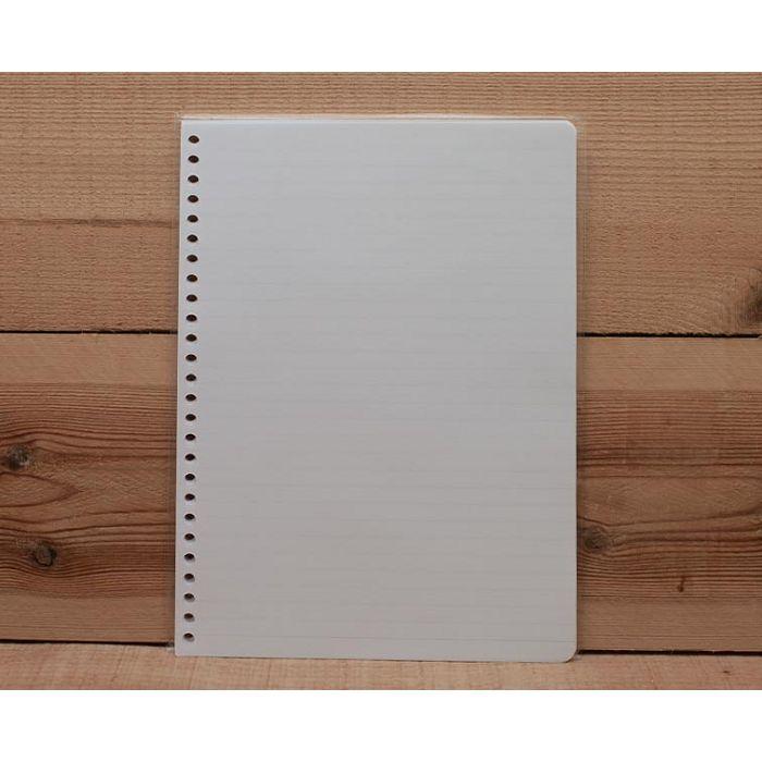 素色橫線26孔內頁(淡藍)