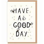 【青青文具】簡單生活--手繪風個性萬用卡(good day)
