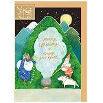 【青青】簡單生活-冬日暖心II萬用卡-魔幻耶誕