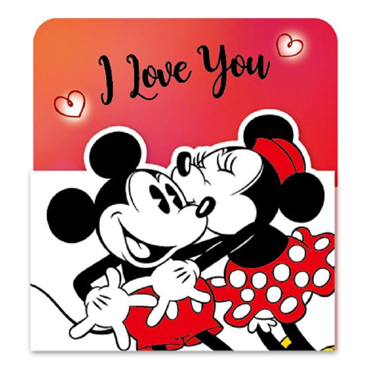 【南寶興】迪士尼3摺卡片-米奇米妮