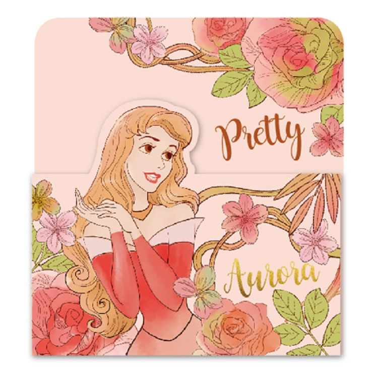 【南寶興】迪士尼3摺卡片-公主黃
