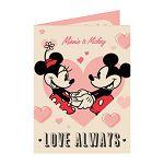 【南寶興】Disney迪士尼A4精裝卡片-米妮
