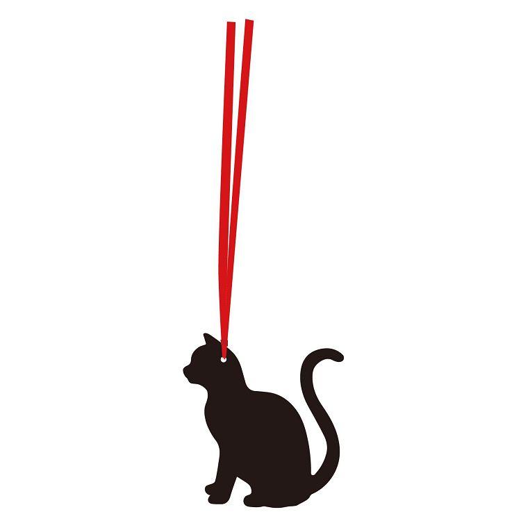 【九達】貓咪剪影書籤-側面