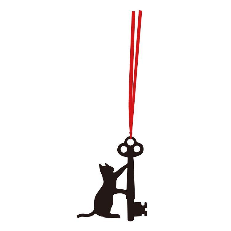 【九達】貓咪剪影書籤-Key