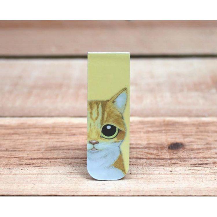 貓咪磁性書籤(橘橘)