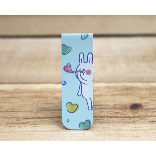 懶散兔磁性書籤(泡泡)