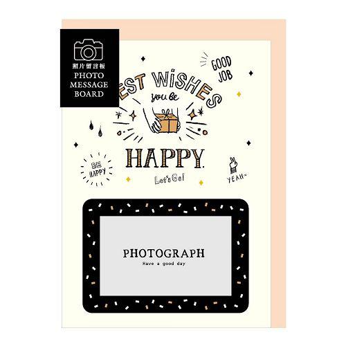 【青青】簡單生活-4*6照片留言大卡-禮物