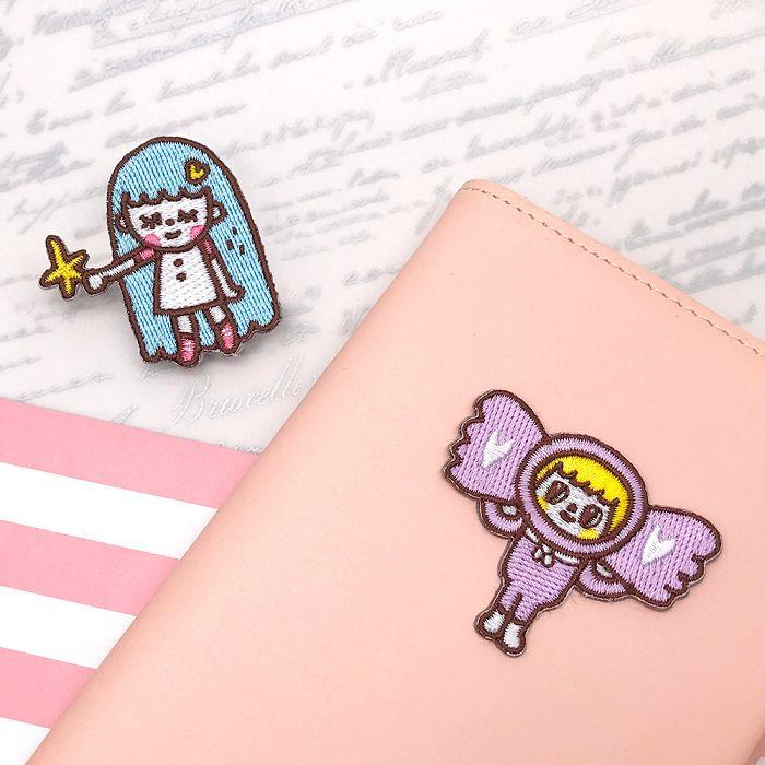 JzFun 森田刺繡裝飾貼-candy