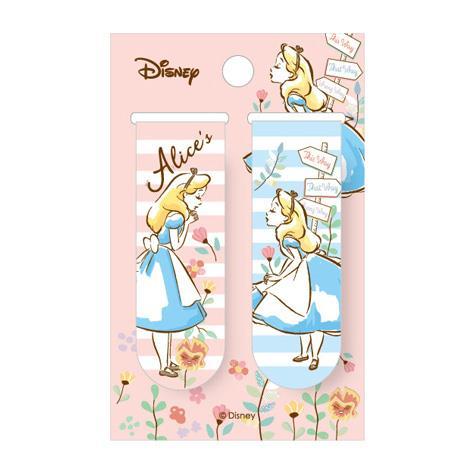 迪士尼磁性書籤2入-愛麗絲