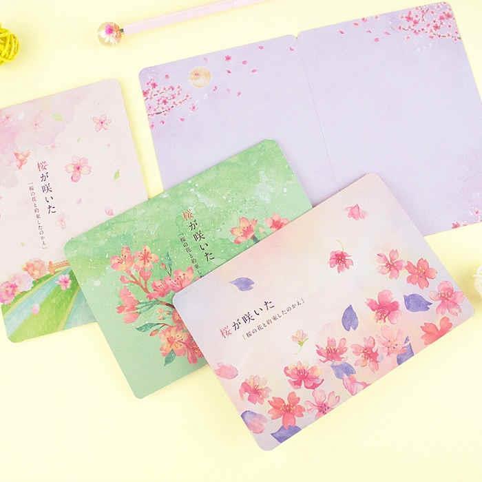 櫻の日-萬用卡片-04飄落