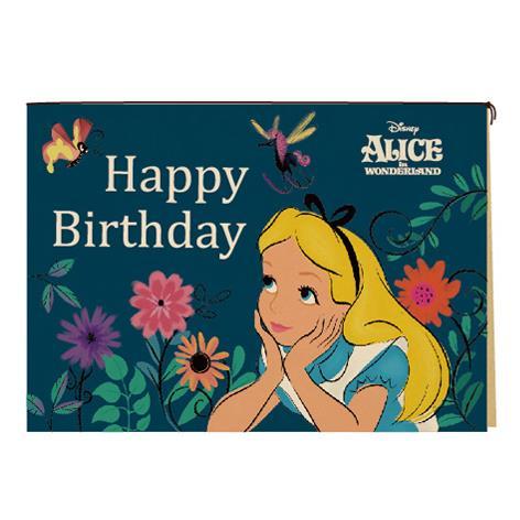 迪士尼萬用卡片-愛麗絲藍