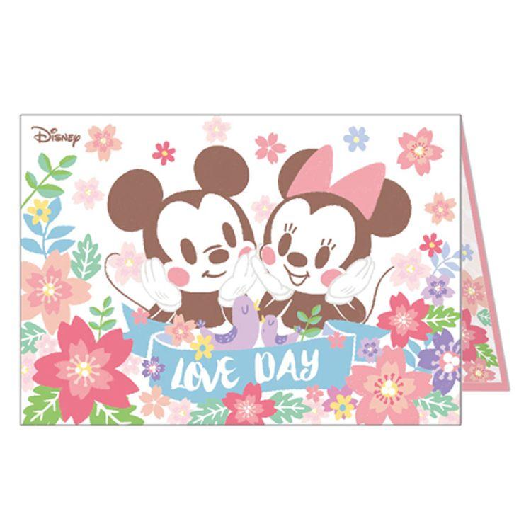 迪士尼A5精裝卡片-米奇&米妮