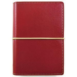 【DATA MATE】哈伯英式簡約 A7 萬用手冊 DM-509 酒紅色